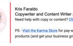 Как находить клиентов с помощью подписи в email 📧