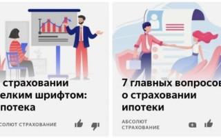 Как продвигать страхование в Дзене: примеры рекламных статей и удачных приемов