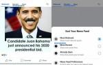 Facebook тестирует новый вариант новостной ленты с вкладками-фильтрами