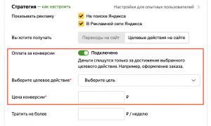 Яндекс.Директ добавил режим упрощенной настройки стратегий