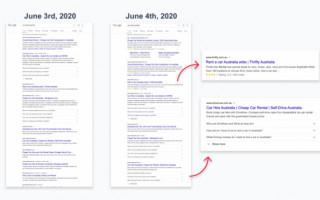 Главные страницы получили расширенные сниппеты в Google