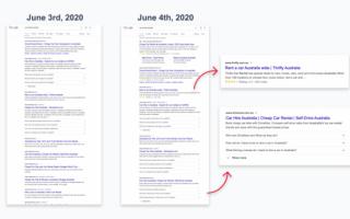 Google начать создавать расширенные сниппеты для главных страниц