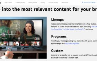 Google запускает YouTube Select в России