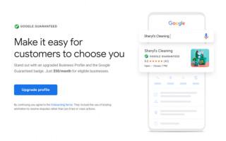 Значок Guaranteed у бизнес-профилей из Google My Business появится и в других сервисах