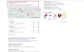 Особенности продвижения сайтов ресторанов и кафе