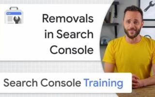 Google объяснил, как использовать инструмент удаления URL в Search Console