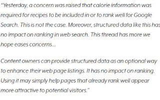 Структурированные данные и позиции в поиске – есть ли связь?