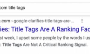 Google: влияет ли длина title на SEO