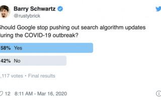 Сеошники не хотят апдейтов Google во время пандемии