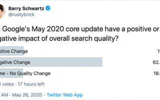 Сеошники о влиянии майского апдейта Google