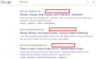 Google вновь тестирует удаление навигационных цепочек из поиска