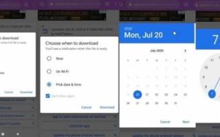 Google тестирует отложенную загрузку файлов в Chrome для Android