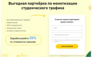 Как заработать на партнерке: обзор ниши essay на рынке СНГ от Vsesdal.com