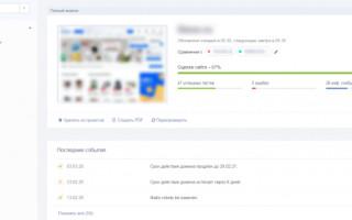 Анализ сайта: полный гайд по сервису для онлайн-аудита