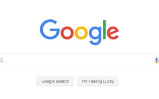 Google тестирует новый дизайн главной страницы