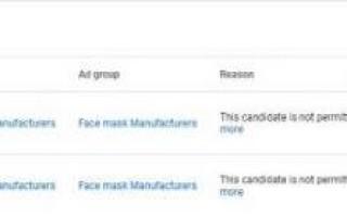 Google ввел временный запрет на рекламу медицинских масок