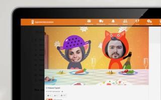 К Новому году пользователи Одноклассников получат персональный мультфильм