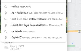 Google продолжает эксперименты с тестированием рекламы локальных компаний