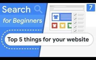 Google дал 5 советов новичкам, как подготовить сайт к ранжированию