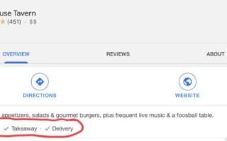 Google Мой бизнес анонсировал новые атрибуты для бизнес-профилей