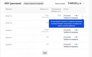 Яндекс.Маркет изменит отображение магазинов на Витрине