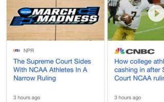 Google начал показывать в карусели «Главные новости» не только AMP-страницы