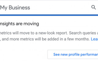 Google My Business запускает новую систему отчетов об эффективности