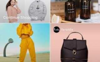Instagram запускает рекламу в разделе с покупками
