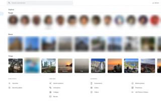 Версия Google Фото для десктопа стала больше похожа на мобильную